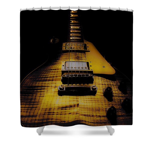 1958 Reissue Guitar Spotlight Series Shower Curtain