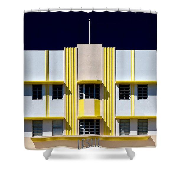 Leslie Hotel Shower Curtain