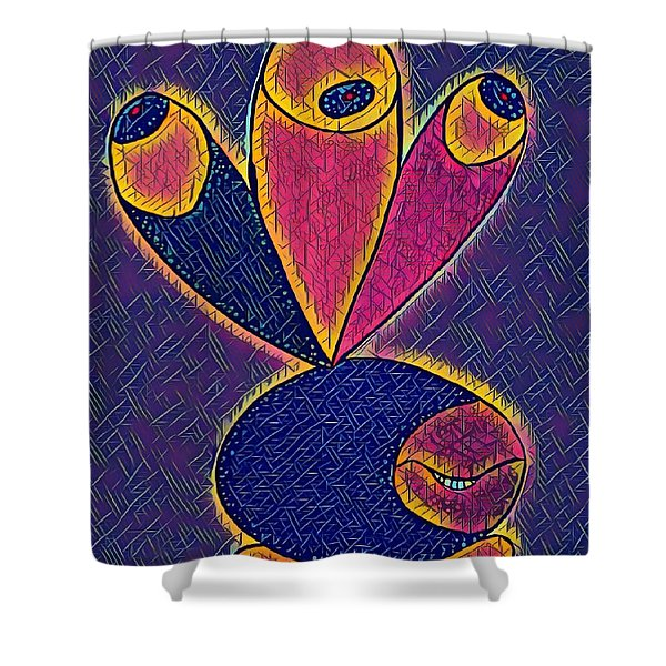 Lesly Shower Curtain