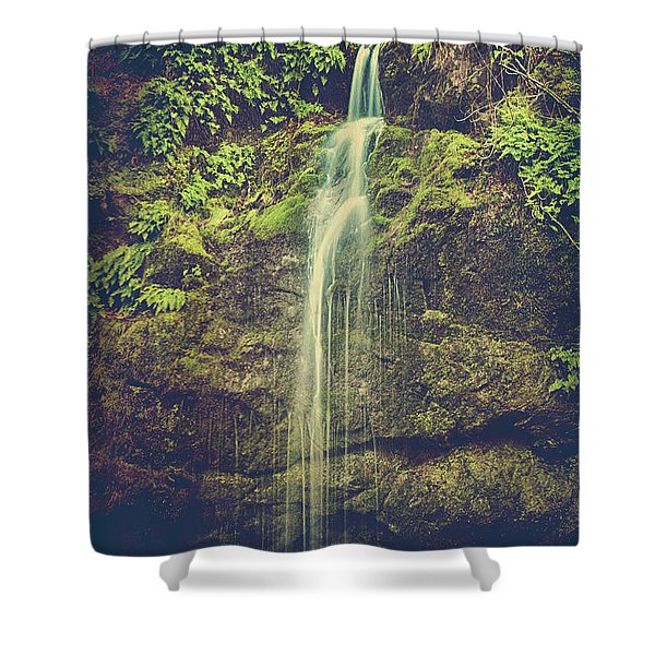 Let Me Live Again Shower Curtain