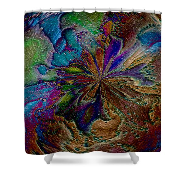 Let The Earth Bring Forth Shower Curtain