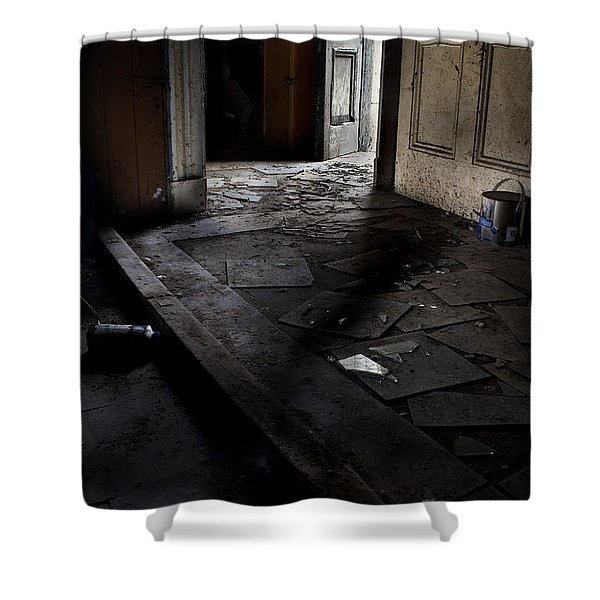 Let The Light In. Shower Curtain