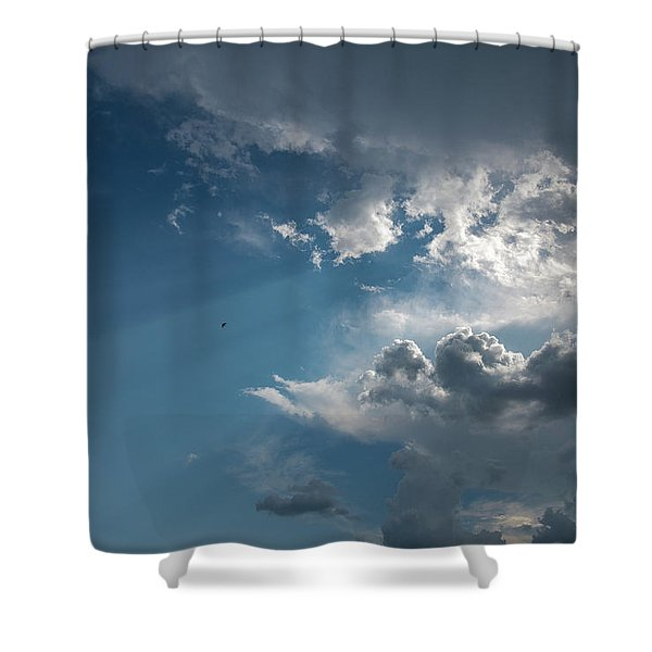 Let There Be Light Shower Curtain
