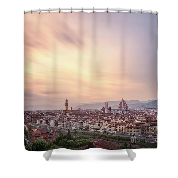 Let Your Glory Shine Shower Curtain