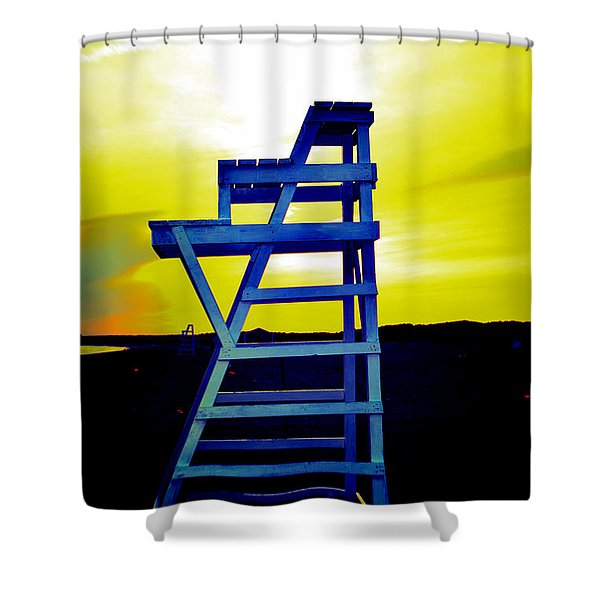 Let Your Guard Down Shower Curtain