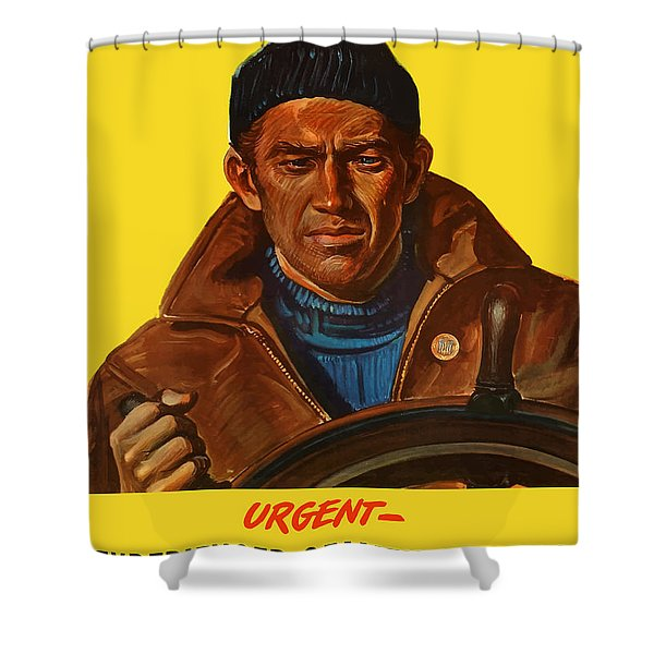 Let's Finish The Job Shower Curtain