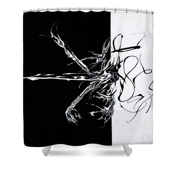 Let's Rock N Roll Shower Curtain