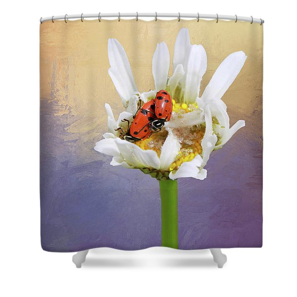 Lets Tango Shower Curtain