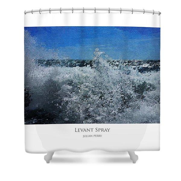 Levant Spray Shower Curtain