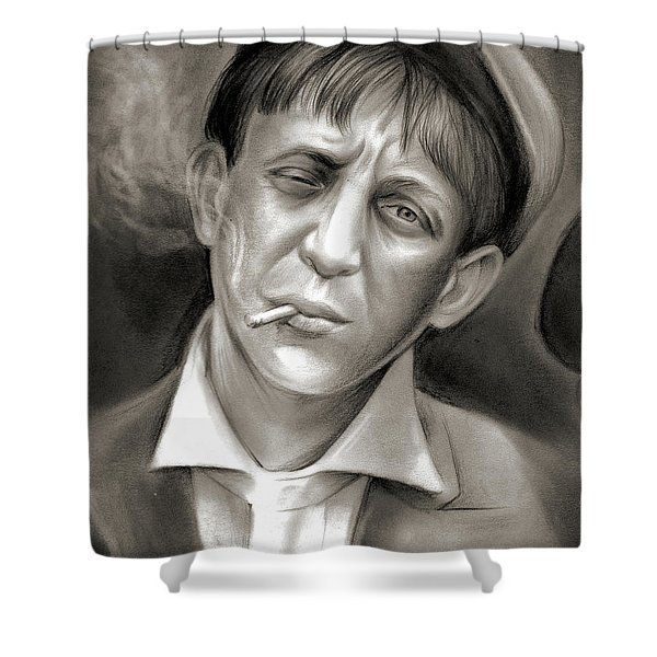 Lewis Hine Tribute Shower Curtain