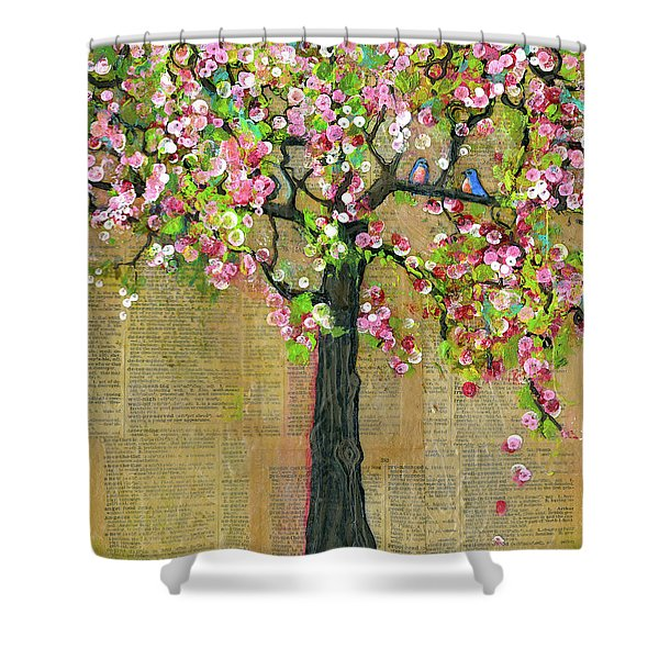 Lexicon Tree Of Life 4 Shower Curtain