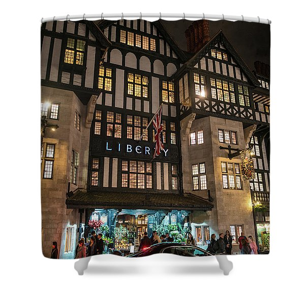 Liberty Of London Out Front Night Shower Curtain