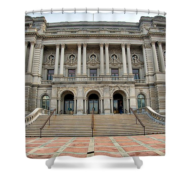 Library Of Congress Shower Curtain