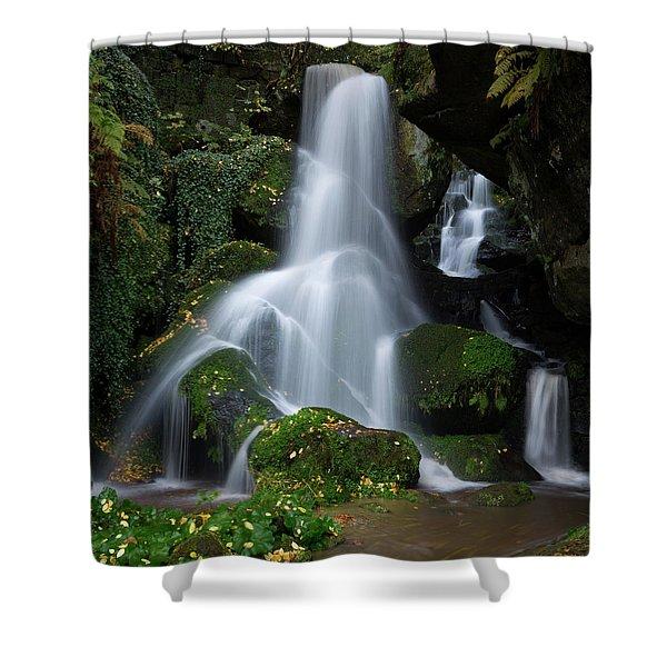 Lichtenhain Waterfall Shower Curtain