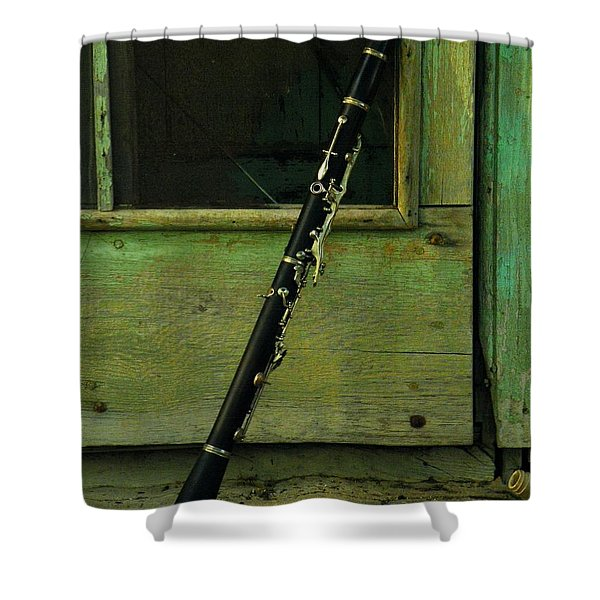 Licorice Stick Shower Curtain