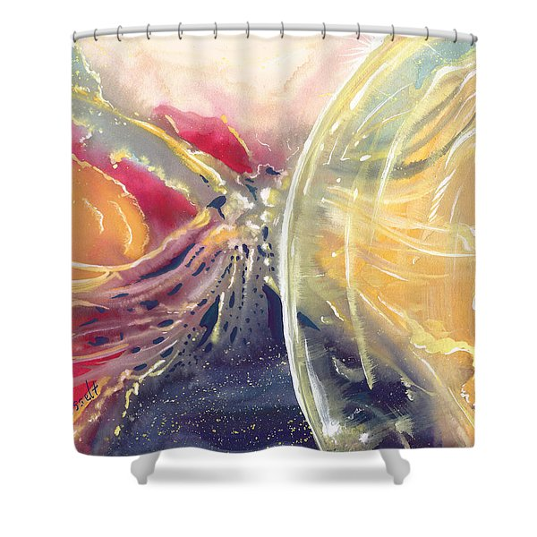Life Everafter Shower Curtain