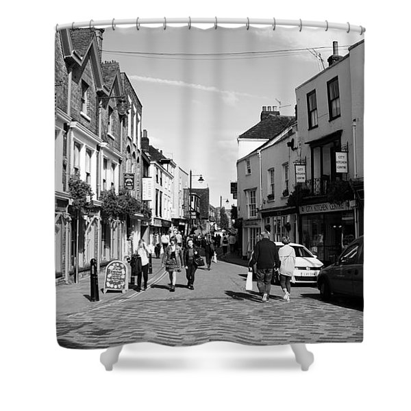 Life In Canterbury Shower Curtain