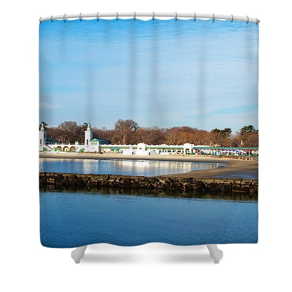 Life In Rye Shower Curtain