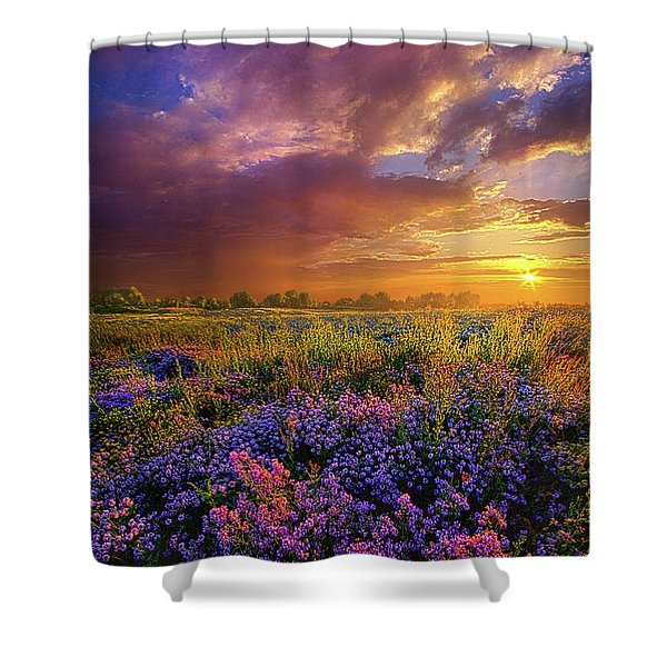 Life Is Measured In Moments Shower Curtain