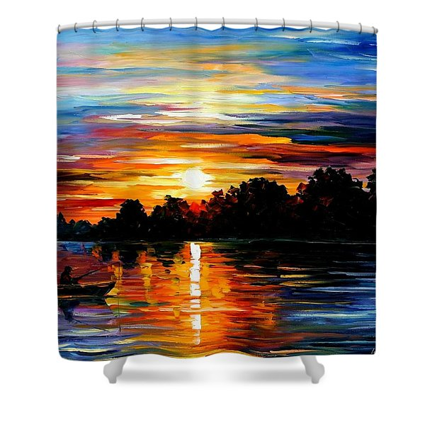 Life Memories Shower Curtain