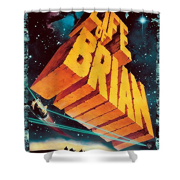 Life Of Brian Shower Curtain