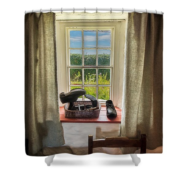Life Of The Cobbler Shower Curtain