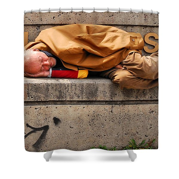 Life On The Street Shower Curtain