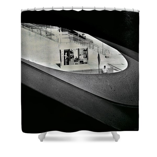 Life Outside The Window Shower Curtain