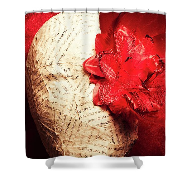 Life Review In Death Shower Curtain