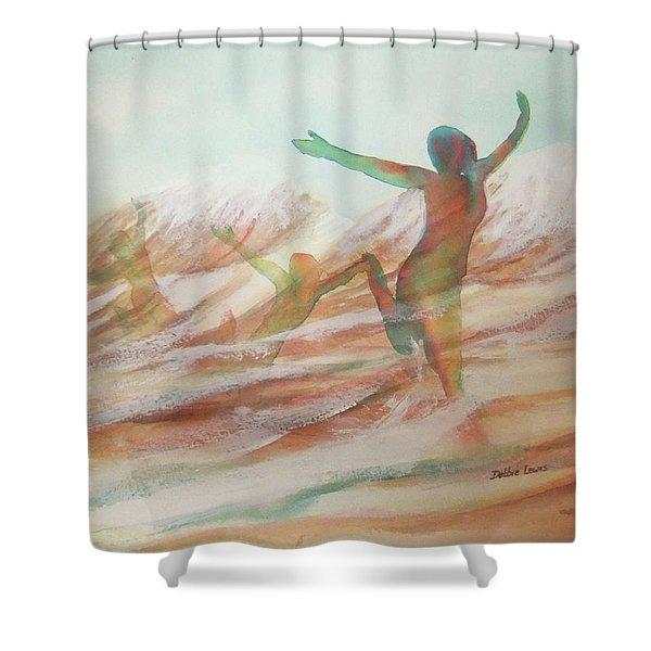 Life Transcendent Shower Curtain
