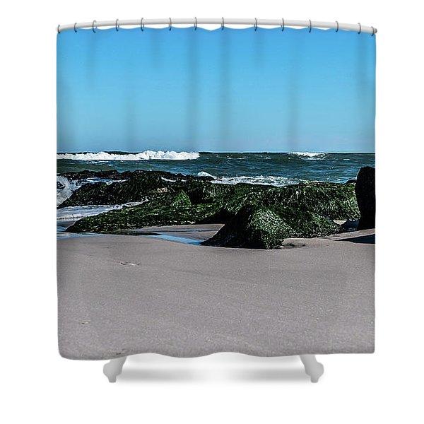 Lifes A Beach Shower Curtain