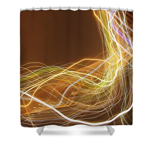 Light 2 Shower Curtain