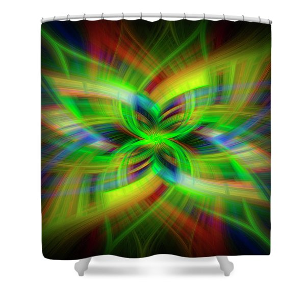 Light Abstract 1 Shower Curtain
