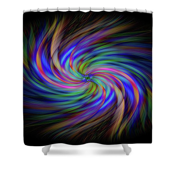 Light Abstract 2 Shower Curtain