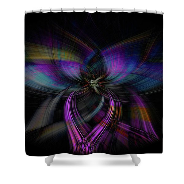 Light Abstract 4 Shower Curtain