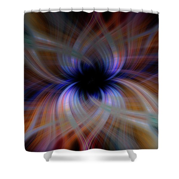 Light Abstract 5 Shower Curtain