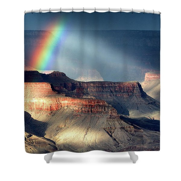 Light And Shadow 1 Shower Curtain