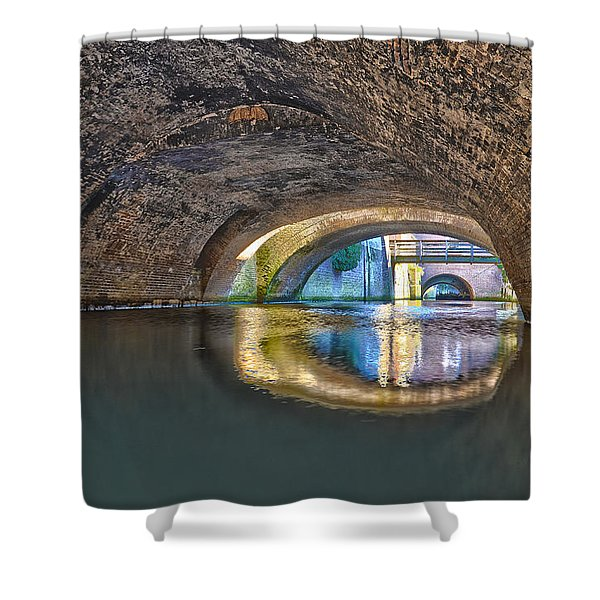 Light At The End Of The Tunnel Shower Curtain