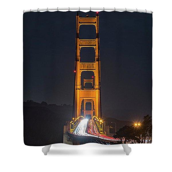 Light Gateway Shower Curtain
