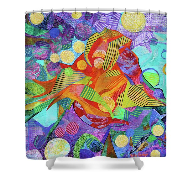 Light In The Heights Shower Curtain