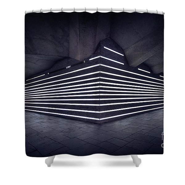 Light Into The Darkness Shower Curtain