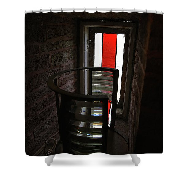 Light Lens Shower Curtain