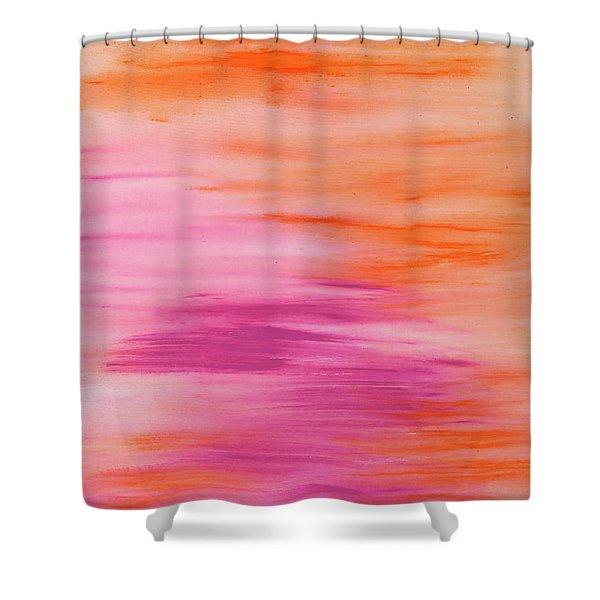 Light Like Love Shower Curtain