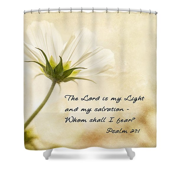 Shower Curtain featuring the photograph Light by Mary Jo Allen