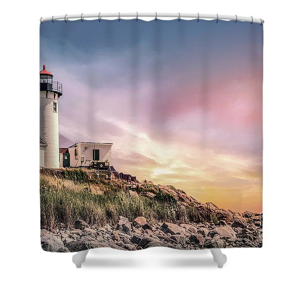 Light My Way Shower Curtain
