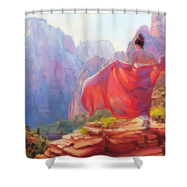 Light Of Zion Shower Curtain