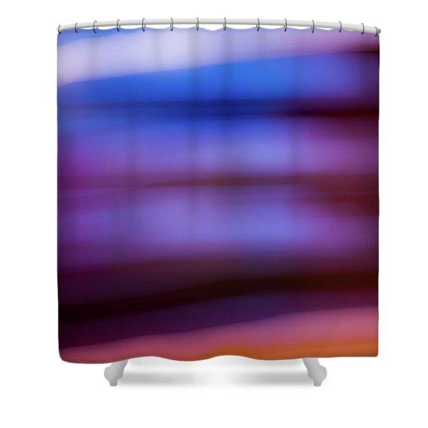 Violet Dusk Shower Curtain