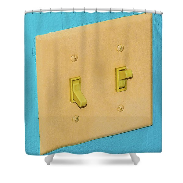 Light Switch Shower Curtain