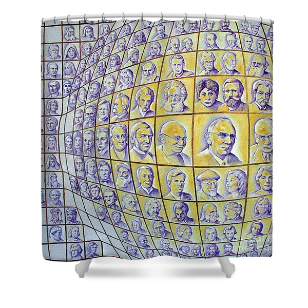 Light Through The Ages Shower Curtain