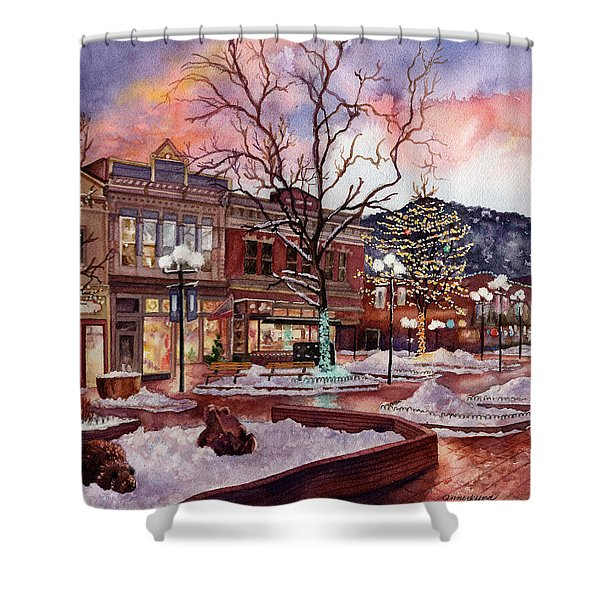 Light Up Heaven And Earth Shower Curtain